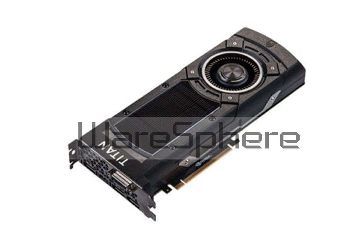 Nvidia / 12GB GDDR5 PCI-e x16 Graphics Video Card for Dell GTX TITAN x 1XXH0 3X DisplayPort