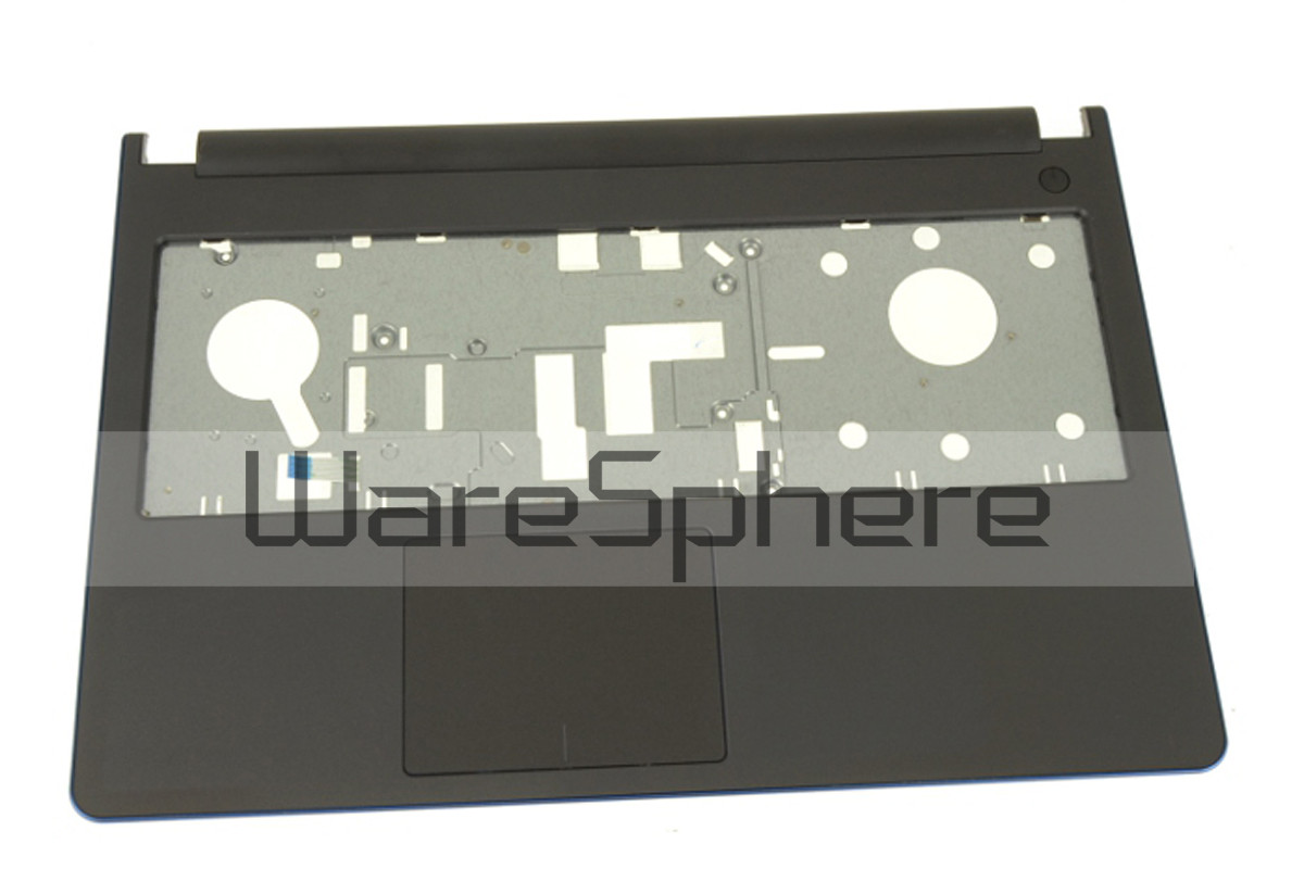 Top Cover Palmrest with TouchPad for Dell Inspiron 15 (5558 / 5559 / 5555) 34R3H Gray with Blue Trim