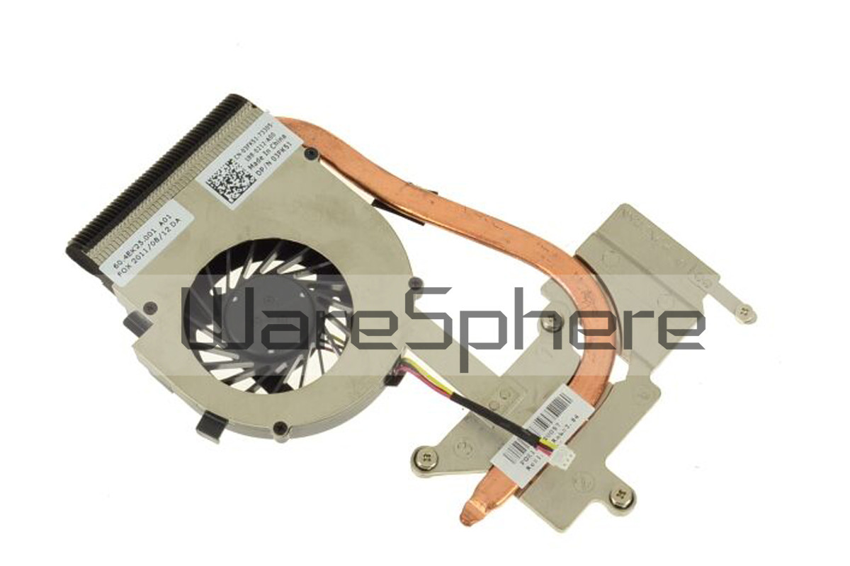 CPU Heatsink and Fan for Dell Inspiron N4020 3FK51