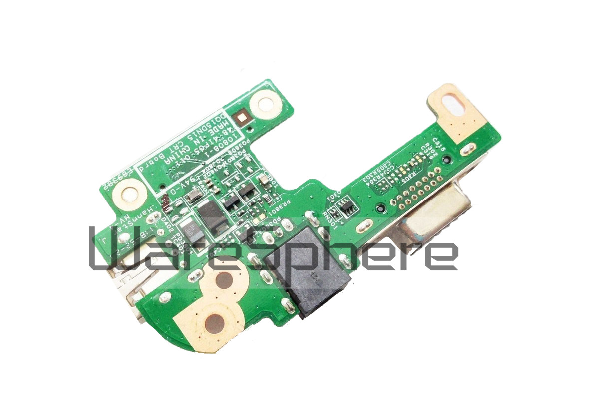 DQ15DN15 CRT AC DC JACK USB Board for Dell Inspiron N5110 48.4IF05.011