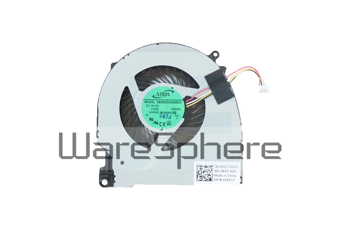 Discrete Graphics Cooling Fan for Dell Inspiron 15 (7559) 4X5CY - Right Side Fan
