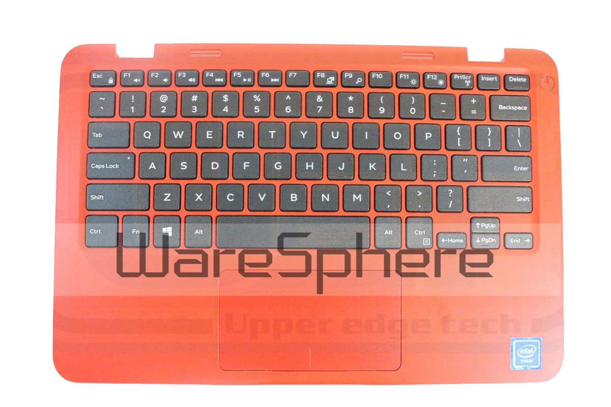 Top Cover Palmrest with Keyboard for Dell Inspiron 11 (3162 / 3164) 54RJ3 Red US