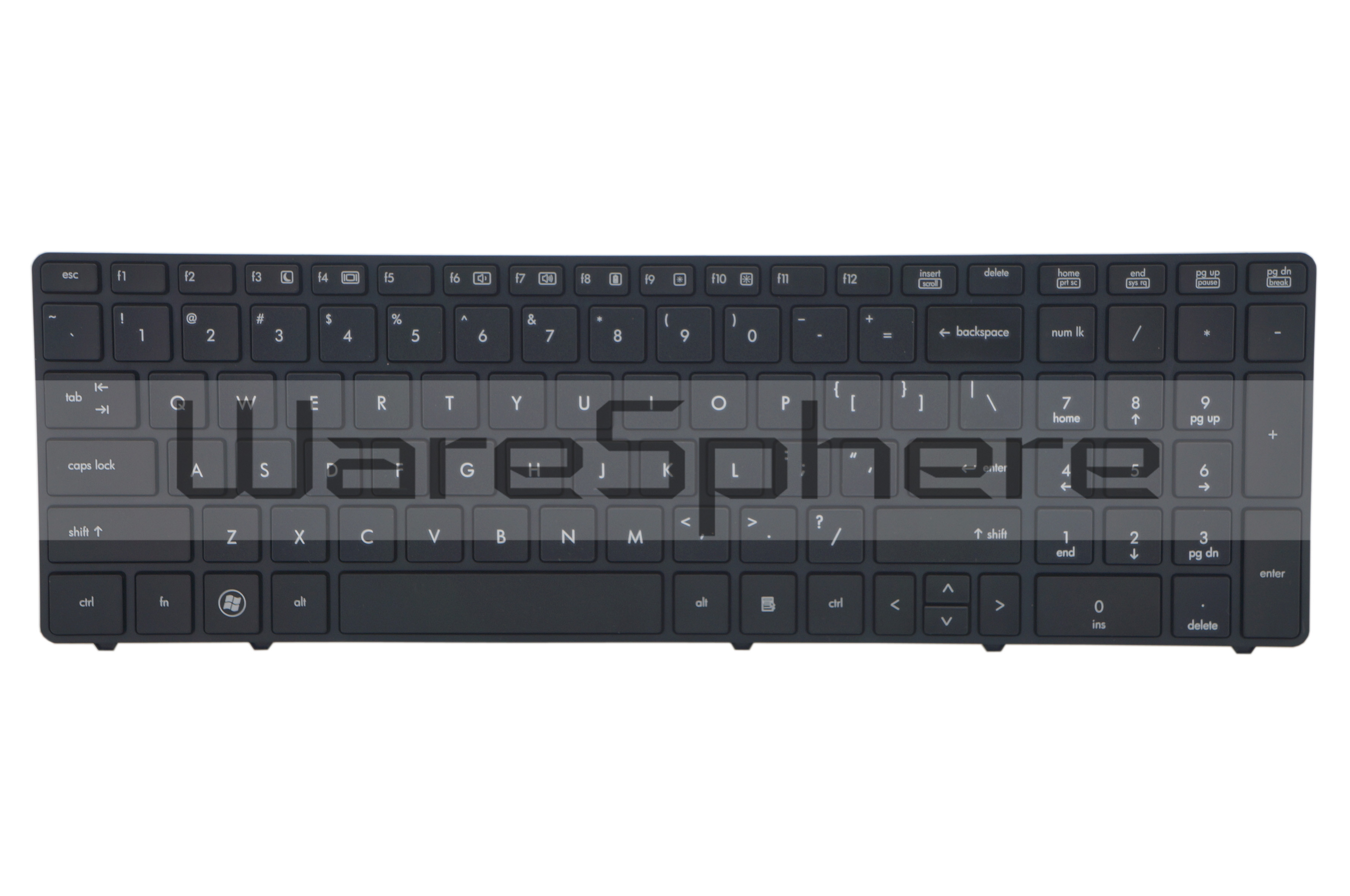 Keyboard Assembly for HP ProBook 6570b  6560b  701988-001 Black US