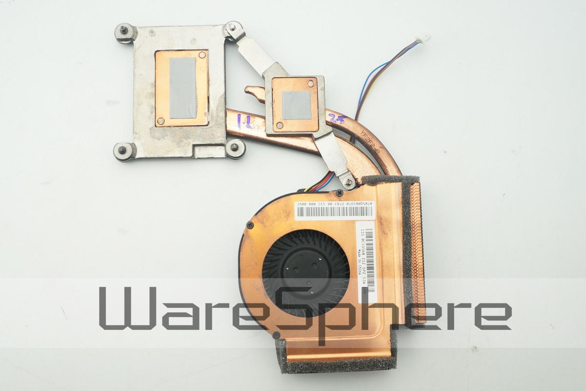 Heatsink and Fan for Lenovo ThinkPad T440p 0C53568 0C53564 AT0SQ003TB0