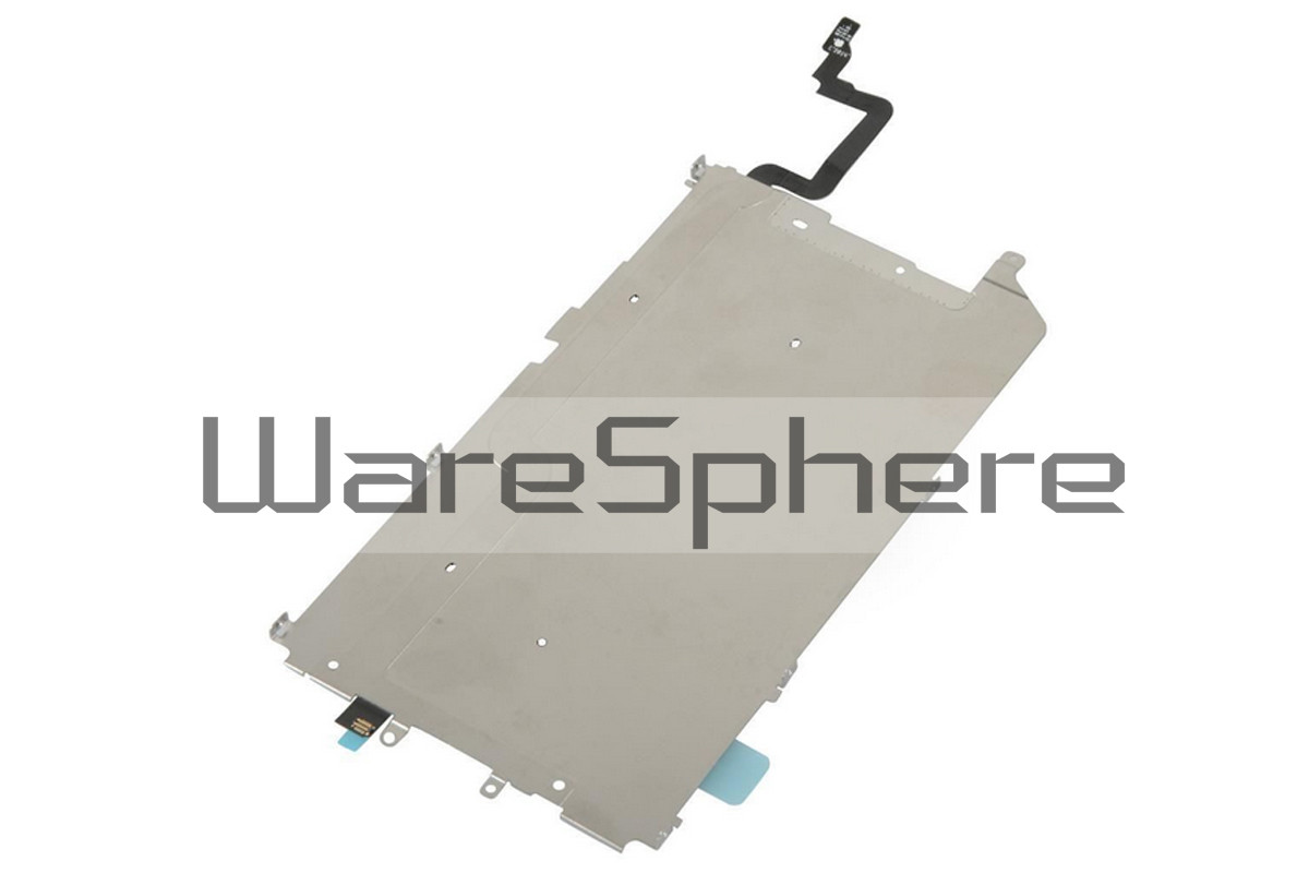 LCD Back Plate W/ Home Button Flex Cable for Apple iPhone 6 Plus 5.5""