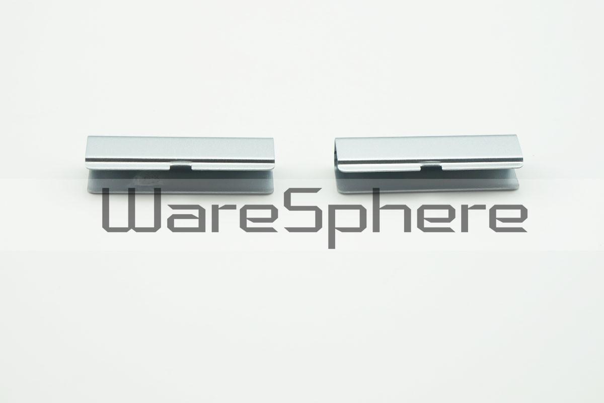 Hinge Covers for Dell Latitude E6420 Silver