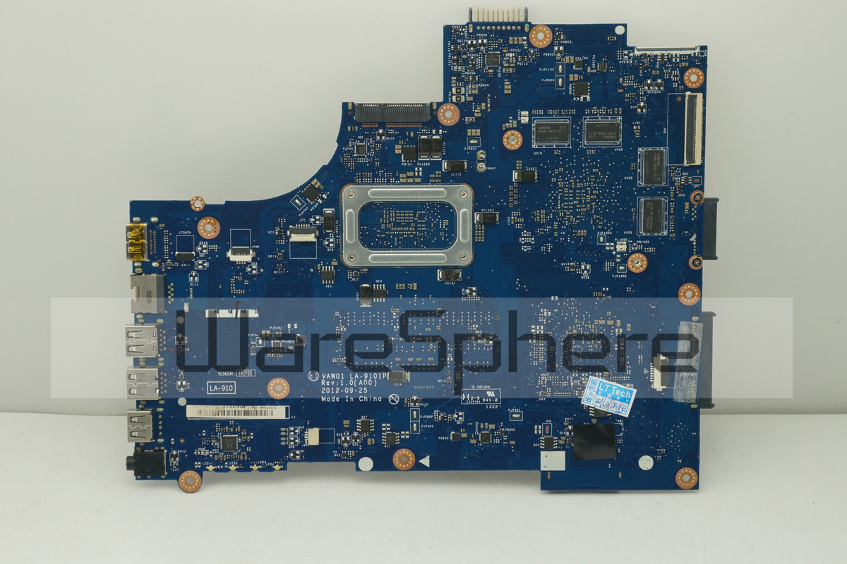 Motherboard For DELL Inspiron 15R 5521 / 15 3521 W/ i7-3537U AMD Radeon Graphics LA-9101P 0P55V 2GB