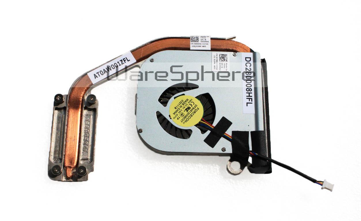 Heatsink and Fan for DELL Latitude E4300 E4310 KXX96 CFMD2