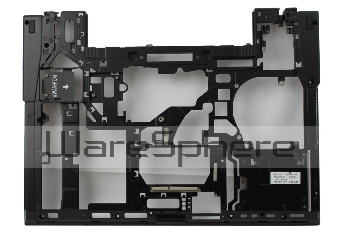 DELL Latitude E6500 bottom case J381M