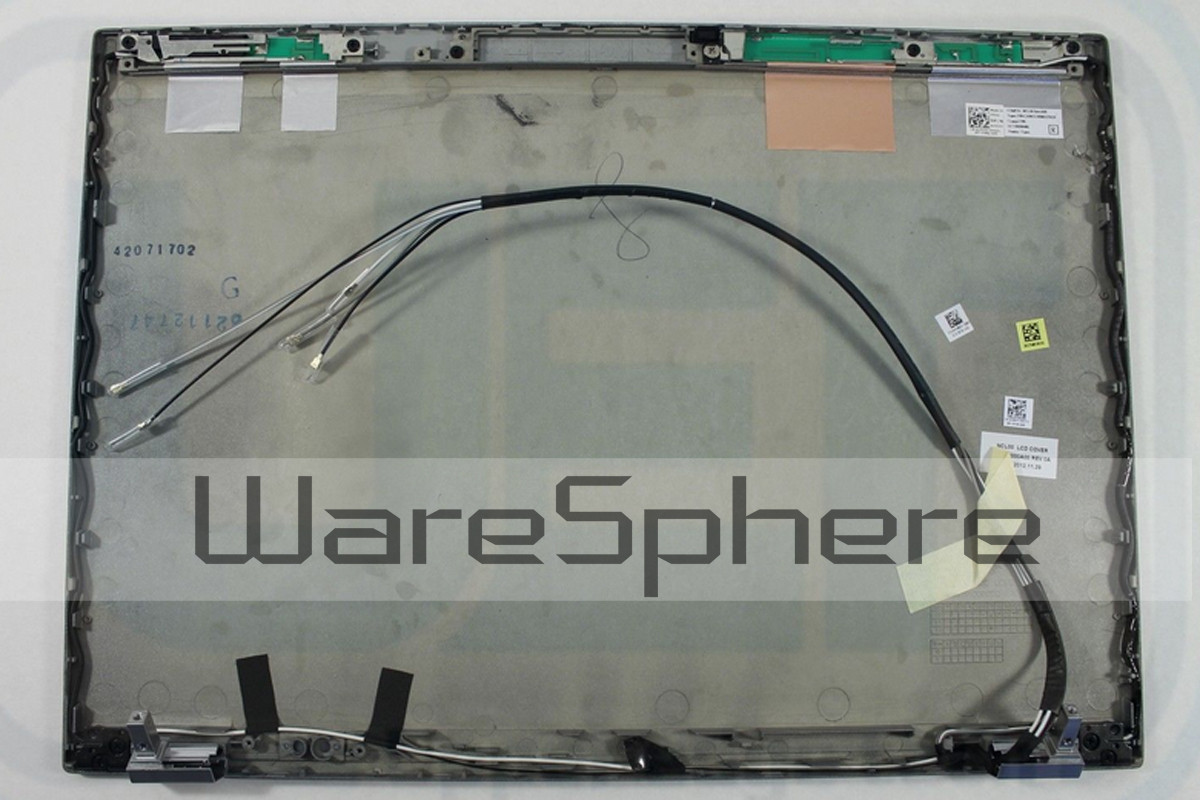 LCD Back Cover Assembly for Dell Latitude E6410  WM82H Silver