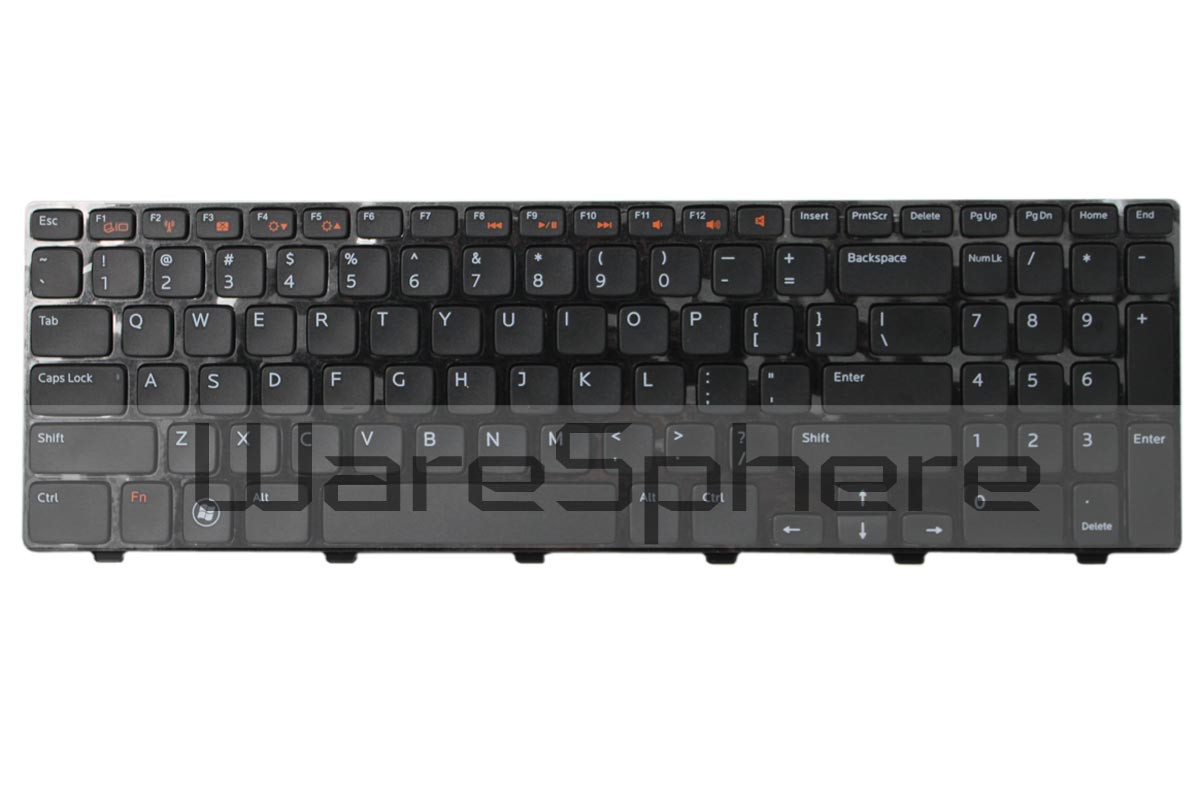 dell inspiron n5110 keyboard black