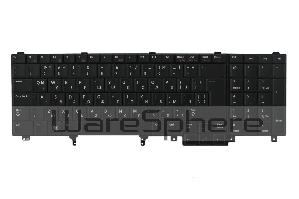 dell latitude e5520 e6520 precision m4600 m6600 keyboard y7vvr