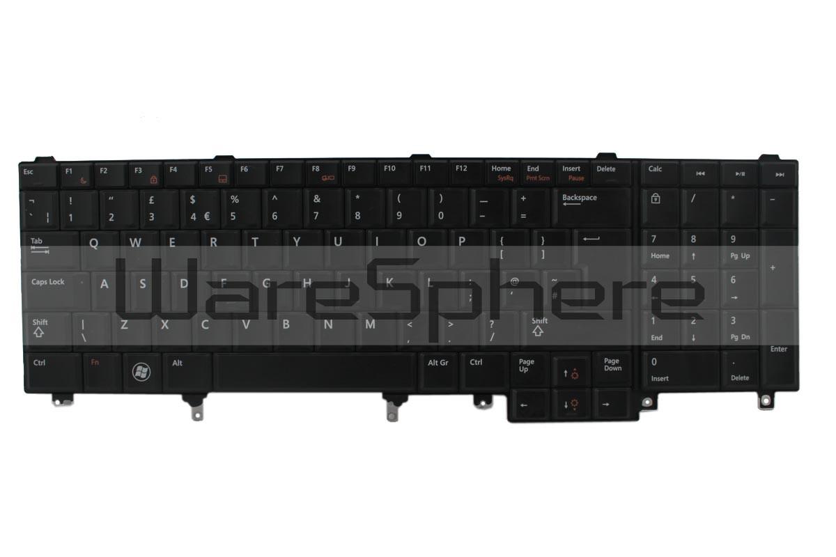 dell latitude e5520 e6520 precision m4600 m6600 keyboard 2pjkw uk