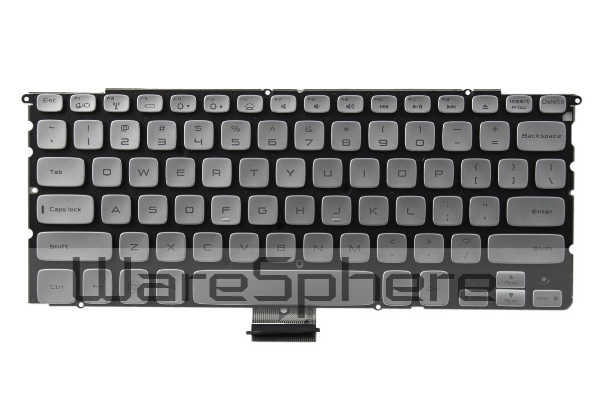 dell xps 14z backlit keyboard silver TVY9M