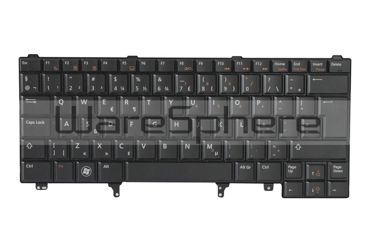 Keyboard for Dell Latitude E5420 TTX3V Netherlands Black