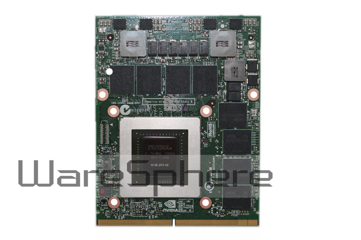 nVidia Quadro GTX680M N13E-GTX-A2 4GB DDR5 MXM 3.0 Graphics Card