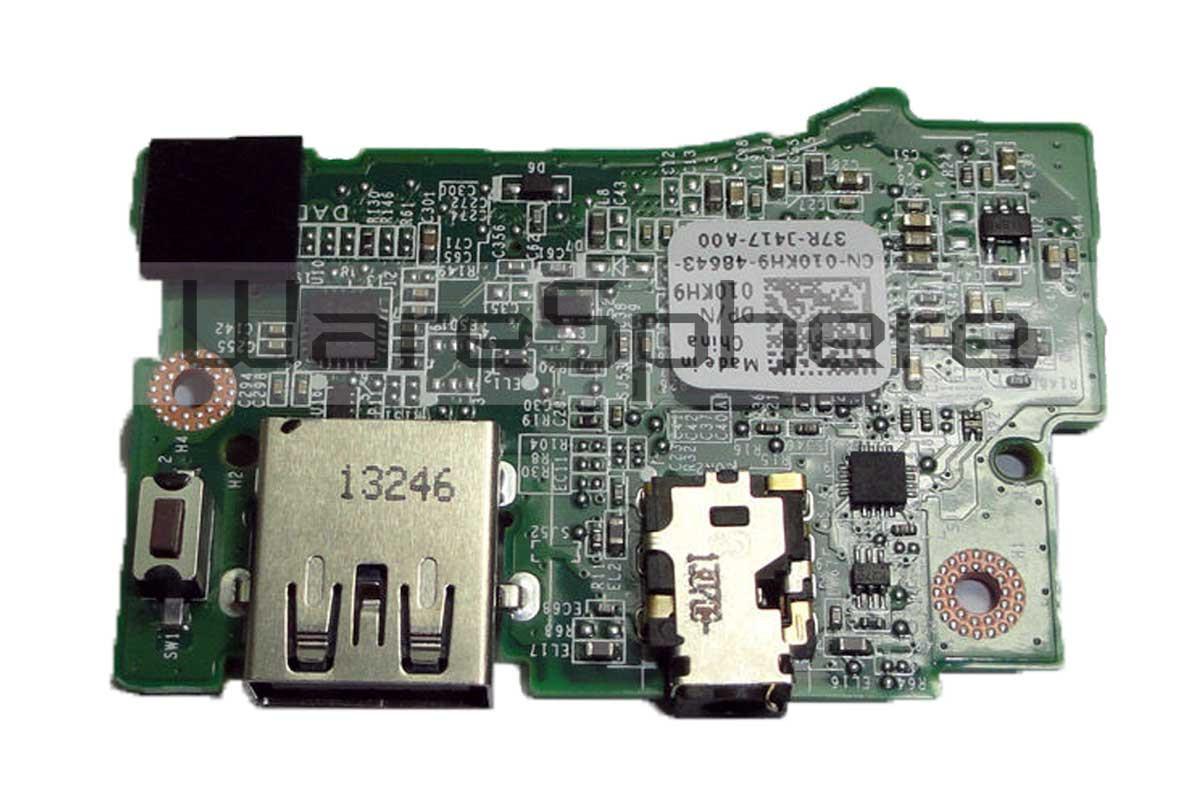 usb port and audio port io circuit board assembly for dell xps 13 Audio to USB Microphone jhg09