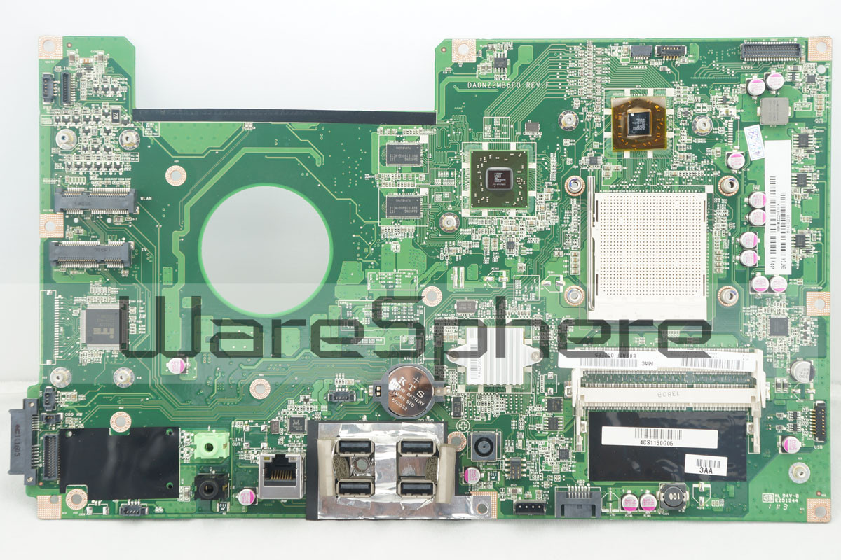 Motherboard for HP TouchSmart 310 DA0NZ2MB6F0 618639-001 618639-002