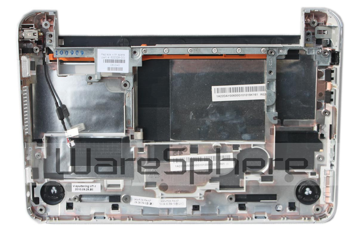 Bottom Case Assembly for HP Mini 210 622328-001