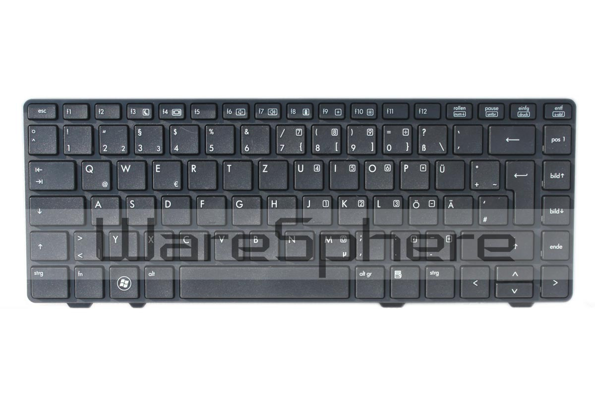 Keyboard for HP ProBook 6360B Black 637045-041 Germany