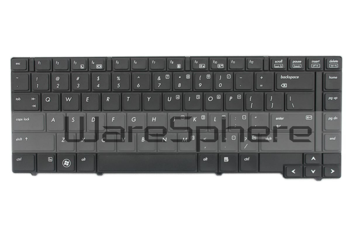Keyboard for HP ProBook 6450b 6455b 9Z.N2W82.701 609870-001 Black US