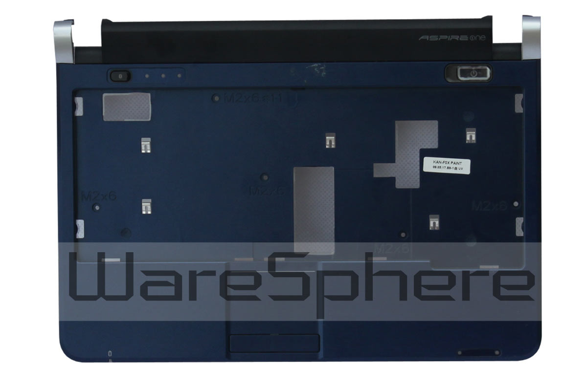 Acer Aspire D150 upper case blue AP06F000C00