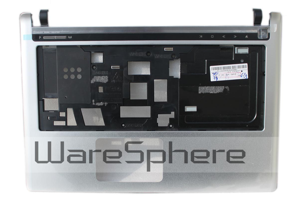 Upper Case Assembly for Gateway ID49 AP0DG000200 Silver
