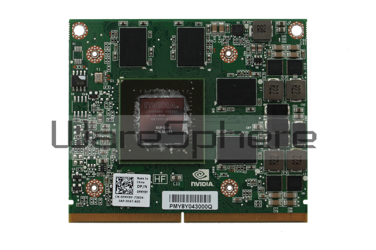 NVIDIA Quadro 2000M 2GB DDR3 MXM 3.0 Graphics Card