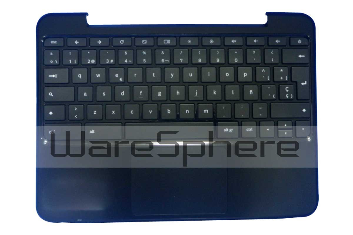 """Upper Case with Keyboard Assembly For Samsung Chromebook XE500C21 12.1""""  SP"""