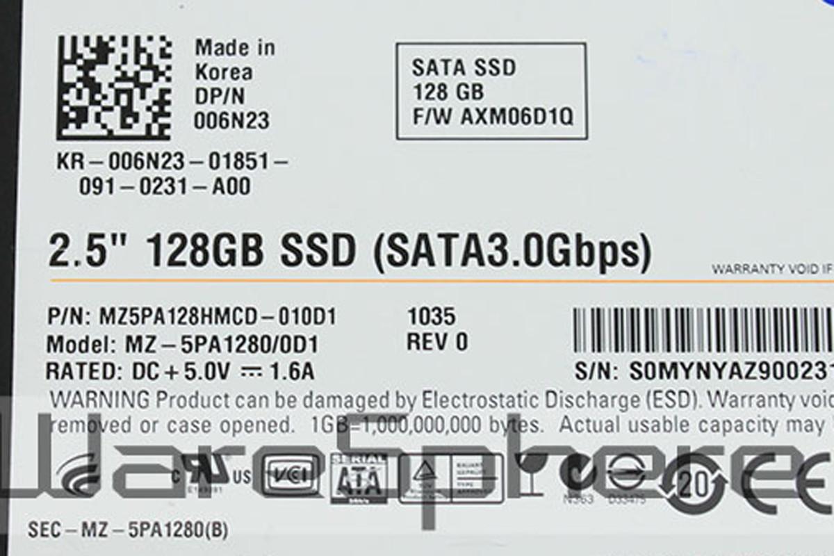 "Samsung 2.5"" 128GB SSD (MZ5PA128HMCD-010D1)"
