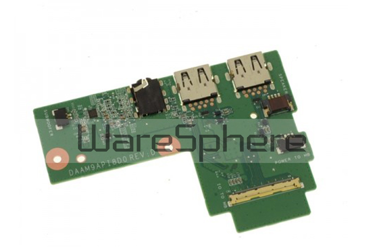 USB / Audio Port IO Circuit Board for Dell Inspiron 15 (7559) G5WGR