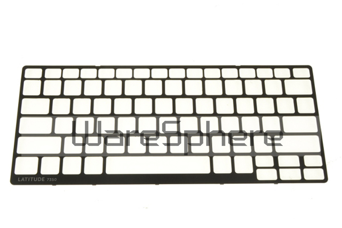 Keyboard Bezel for Dell Latitude 13 (7350) H9GNY Black