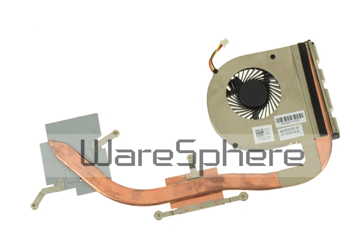 CPU Heatsink and Fan for Dell Inspiron 15 (3542) 14 (3443 / 3442) MFR38