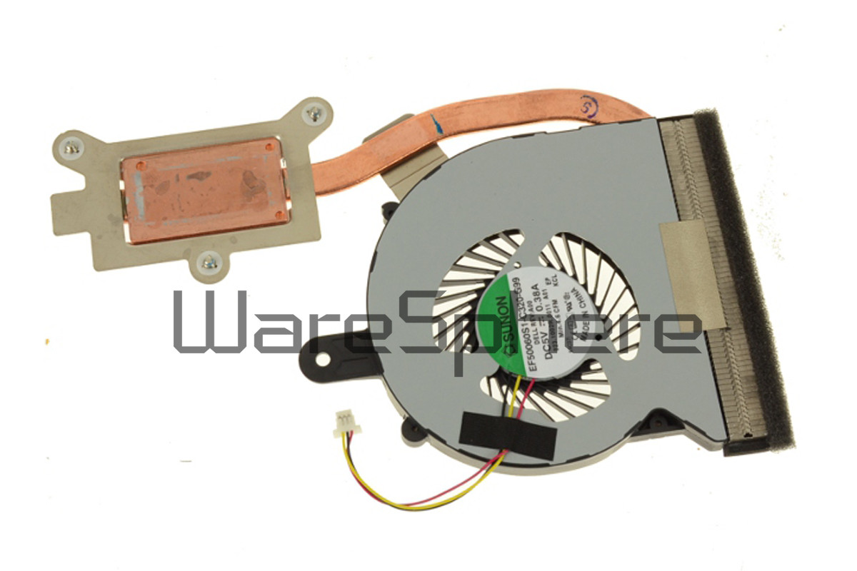 CPU Heatsink and Fan for Dell Inspiron 15 (3558) R9JV6