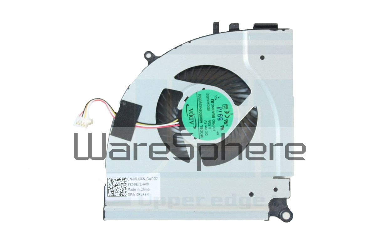 CPU Cooling Fan for Dell Inspiron 15 (7559) RJX6N - Left Side Fan