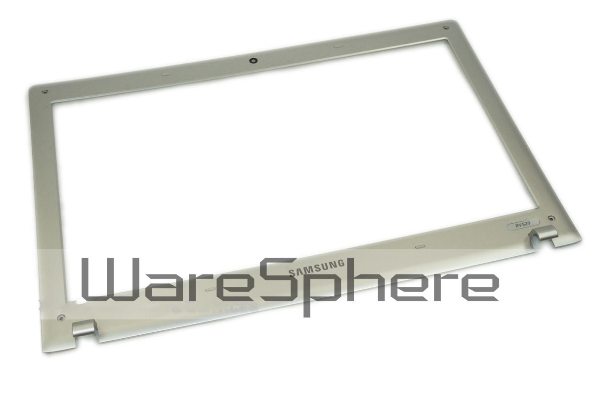 LCD Front Bezel Case Assembly of Samsung RV411 Silver