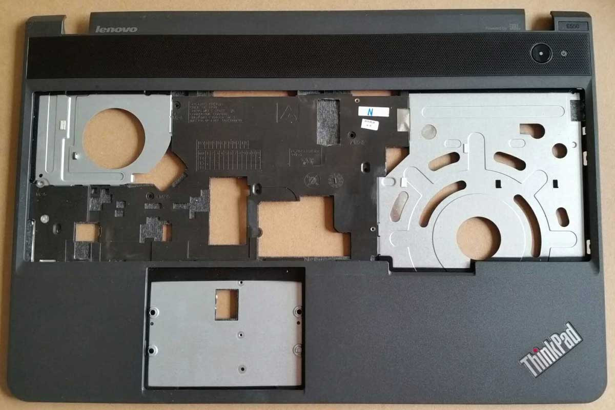Top Cover for Lenovo Thinkpad E550 W/O Fingerprint Black