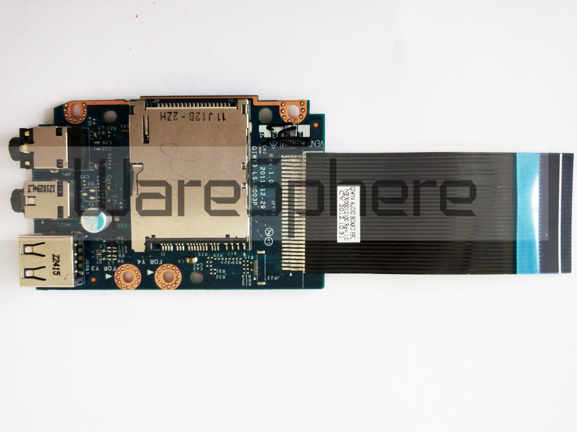 Audio Board for Lenovo IdeaPad Y580 90000242 LS-8003P