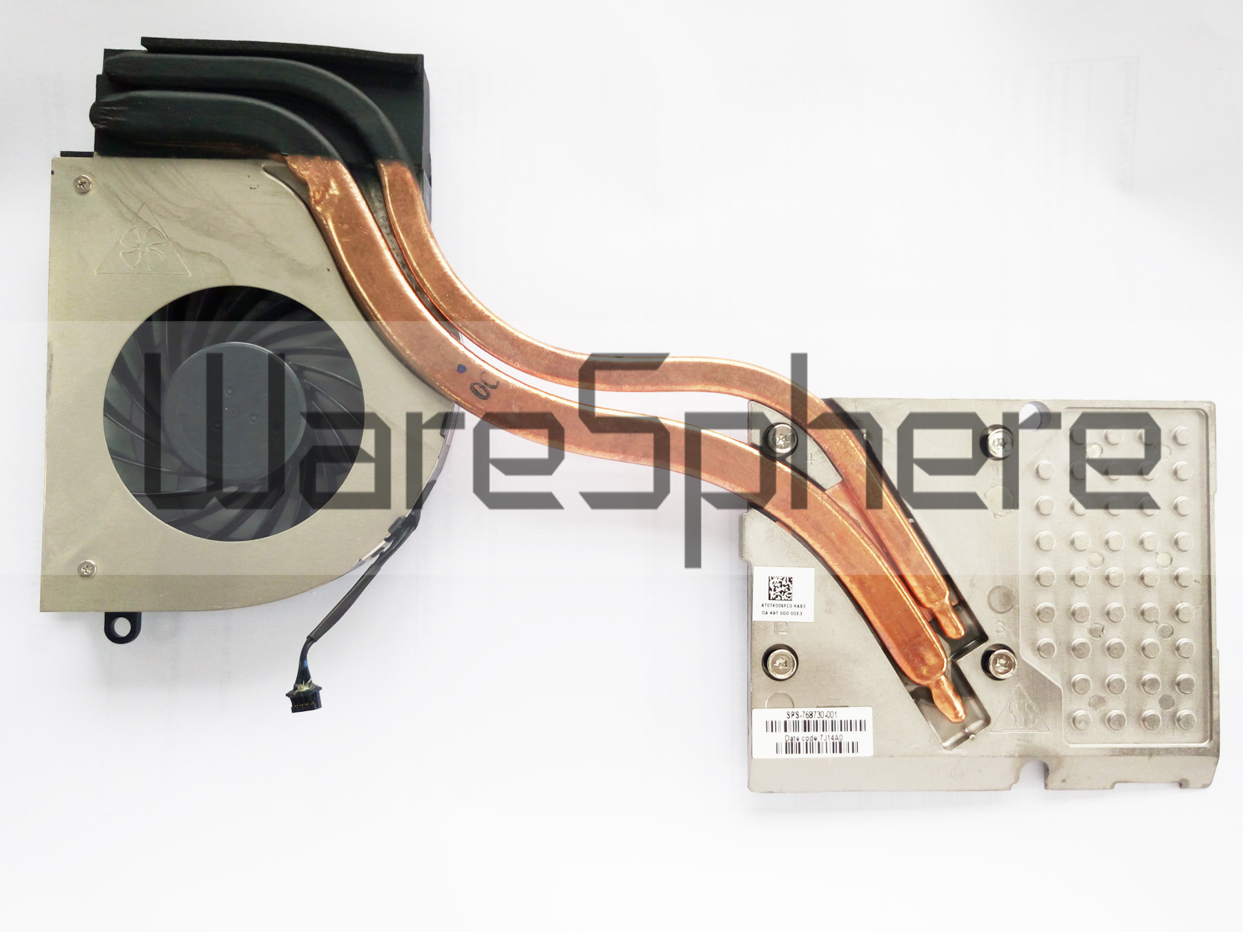 Graphics Heatsink and Fan for HP ZBOOK 17 NVIDIA Quadro K1100M MXM-N15P-Q1 768730-001
