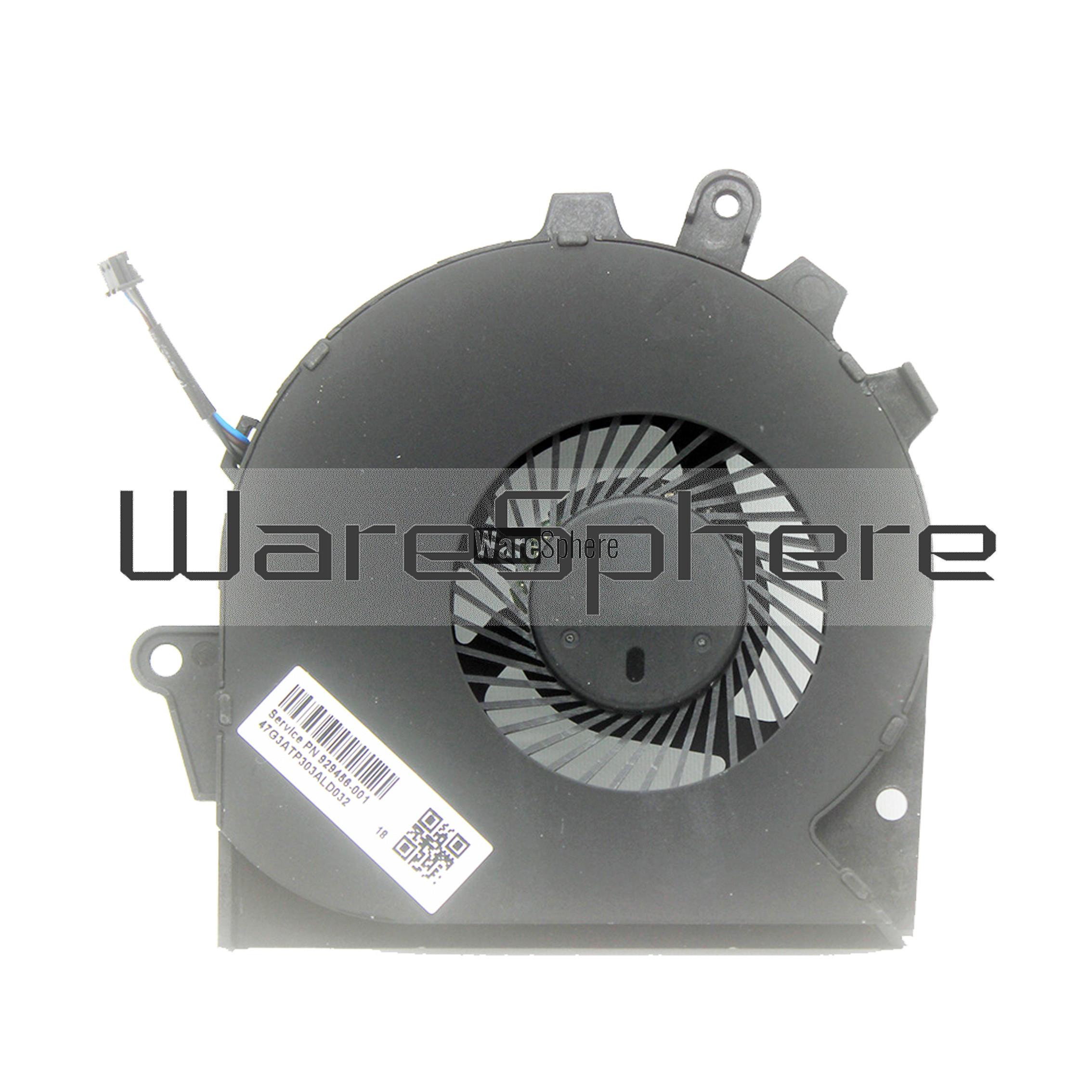 CPU Cooling Fan For HP OMEN 15-CE 17-AN 929455-001 929456-001