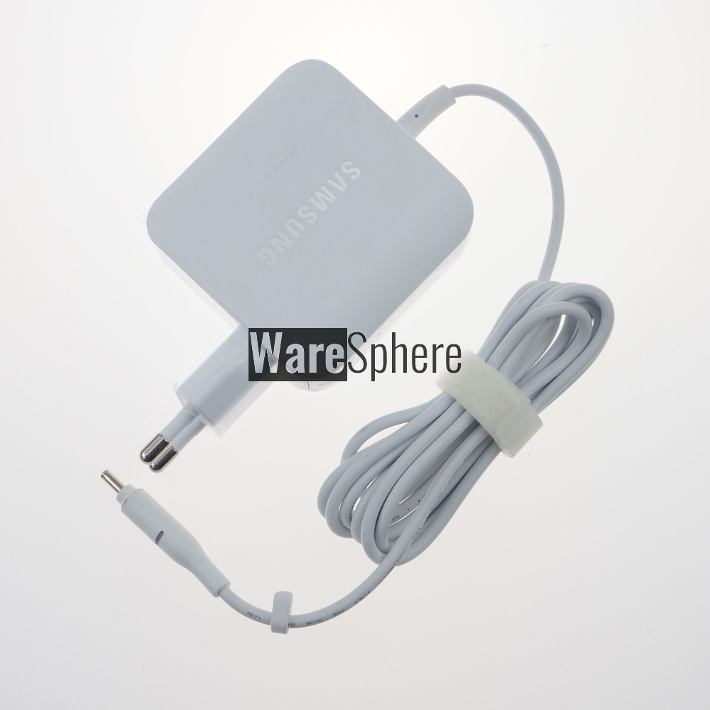 19V 3.42A 65W 3.0*1.1mm AC Adapter For Samsung Notebook 9 NP900X5T-X01US W16-065N4D WO65R035L White