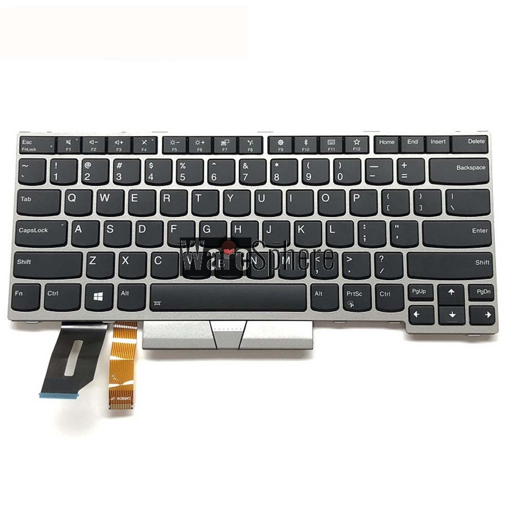 Laptop US Backlit Keyboard for Lenovo Thinkpad T480S E480 L380 E490 01YN340