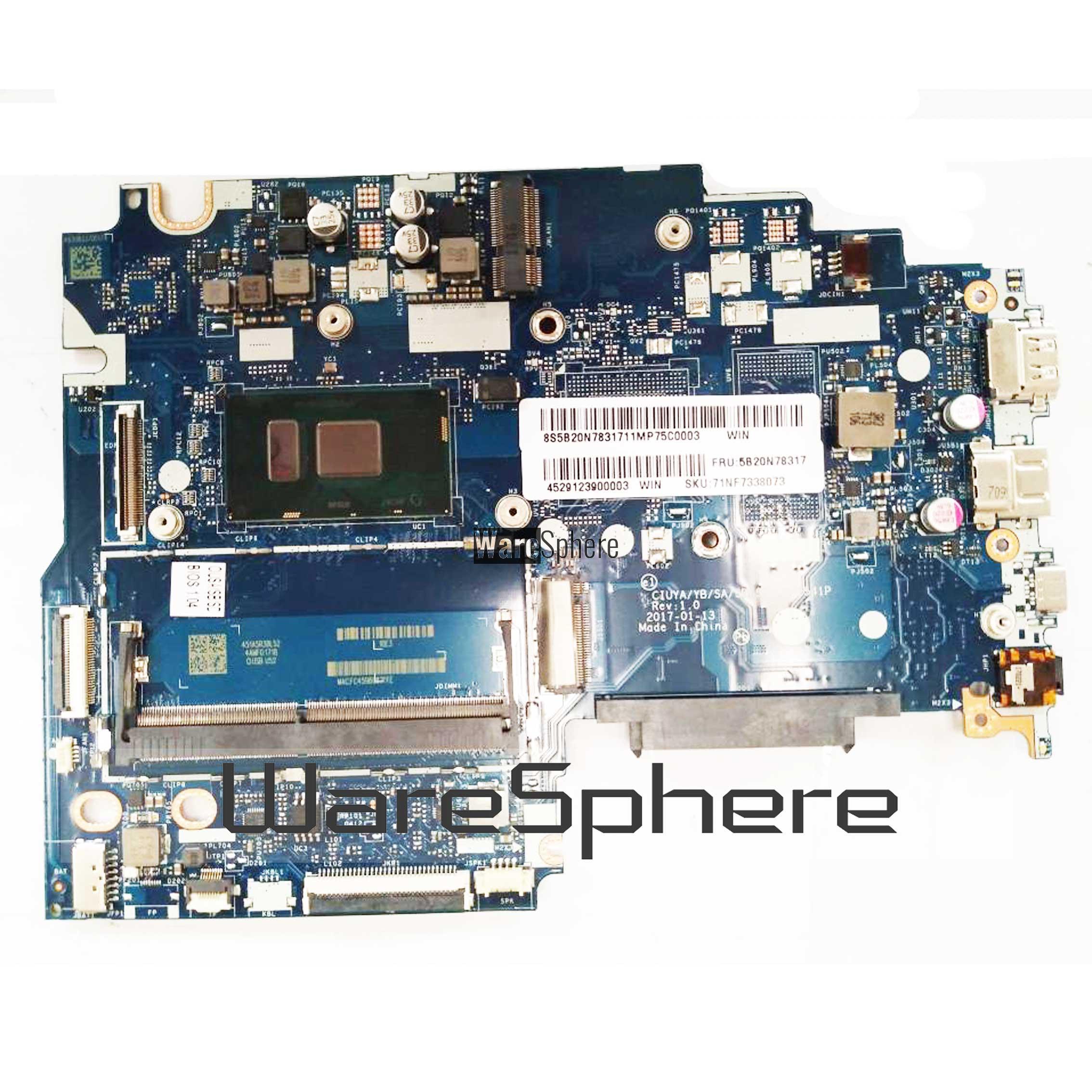 5b20n78317 La E541p Motherboard Intel I5 7200u For Lenovo Ideapad 320s 14ikb