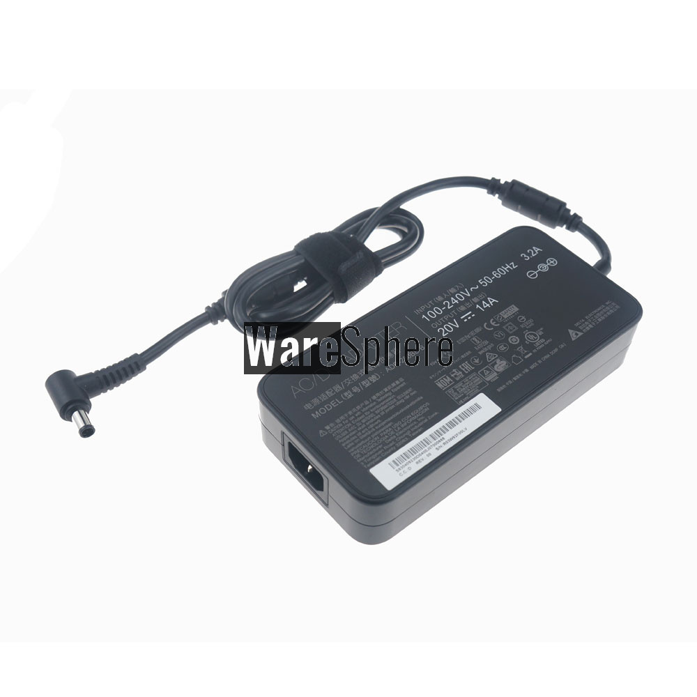 280W  20V 14A  AC Adapter for MSI GE75 Raider 8SF 8SG Series Gaming Notebook ADP-280BB B