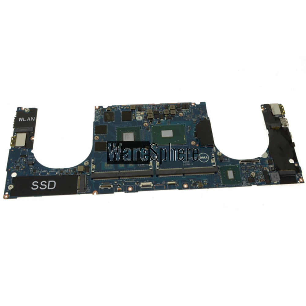 Motherboard I7-7820HQ 2.9GHz M1200 4GB with Discrete Nvidia for Dell Precision 5520 0X41RR