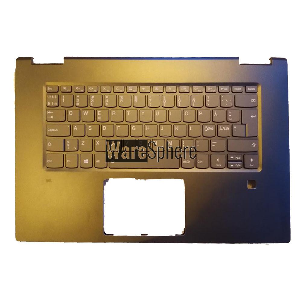 Top Cover Upper Case for Lenovo ideapad Yoga 720-15IKB  Palmrest with Backlit Keyboard  Int e 5CB0N67904 Black ND