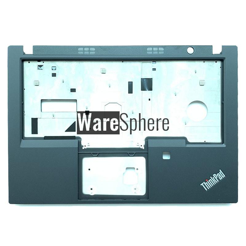 Top Cover Upper Case for Lenovo ThinkPad T490 T495  P43s Palmrest with Fingerprint Hole 02HK957 Black