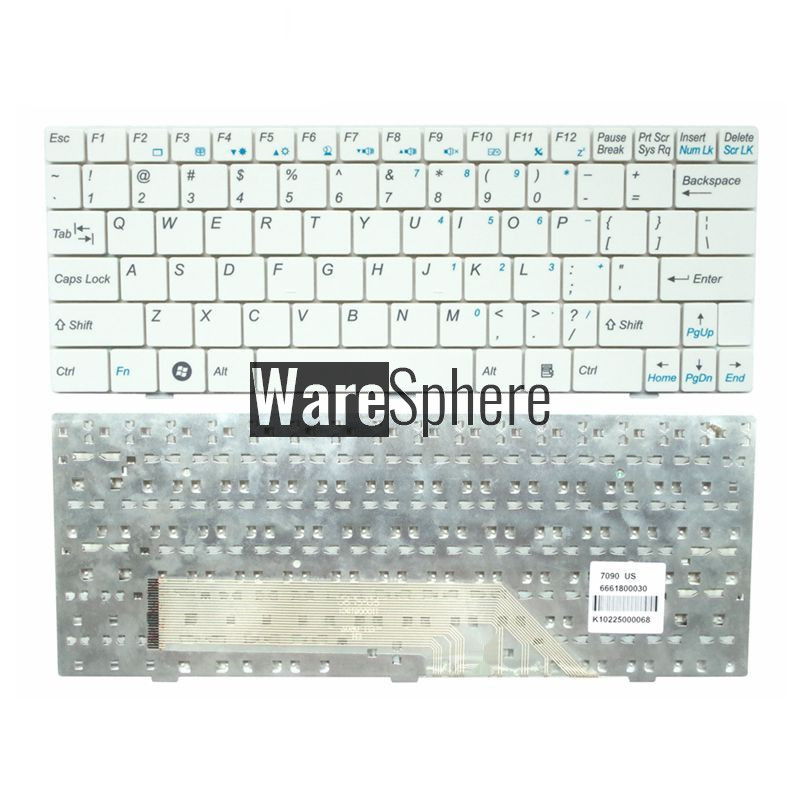 NEW US laptop keyboard for MSI U100 U100X N011 U160 U123 U90 U135 U165 MS-N011 U130 English replace notebook keyboard new