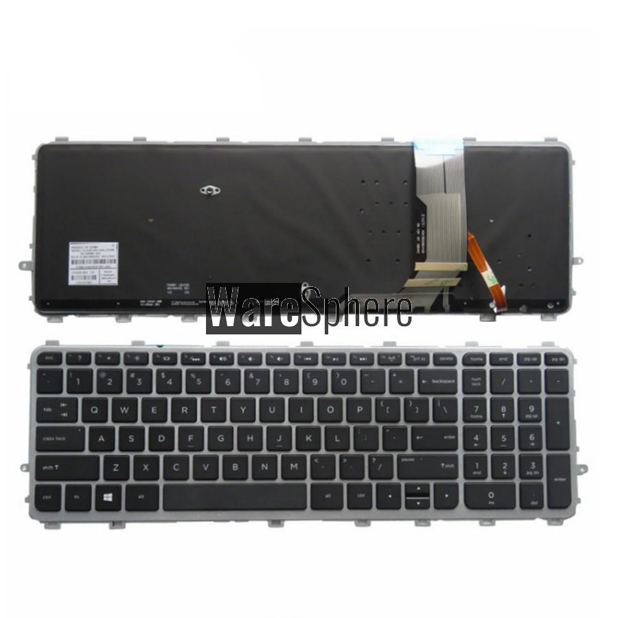 US New For HP Envy 15-j000 15t-j000 17-j000 Keyboard With Frame Backlit
