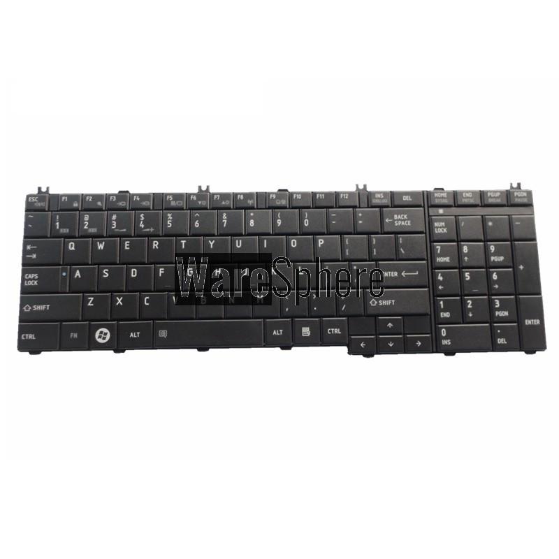 new for Toshiba Satellite US Keyboard AEBL6U00110-US MP-09M83US6920 NSK-TN001 PK130CK1A00 NSK-TN0SV 9Z.N1X82.001 English